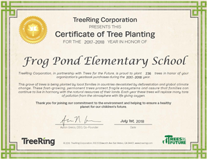 FPE 232 Trees Planted