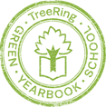 Green Yearbook School Icon